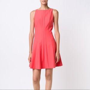 NWOT Elizabeth and James Pink Flare Dress
